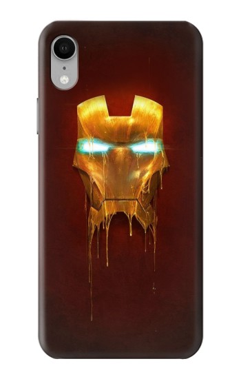 Printed Ironman Mask iPhone XR Case