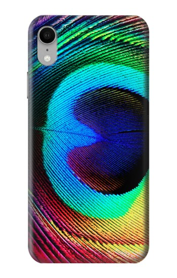 Printed Peacock iPhone XR Case