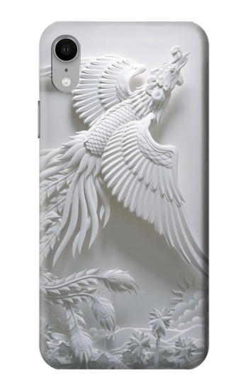 Printed Phoenix Carving iPhone XR Case