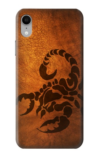 Printed Scorpion Tattoo iPhone XR Case