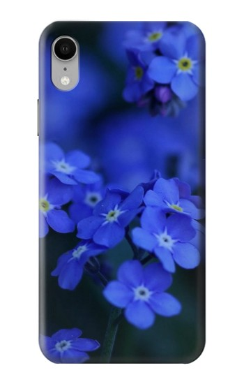 Printed Forget me not iPhone XR Case