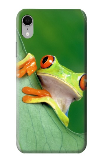 Printed Little Frog iPhone XR Case
