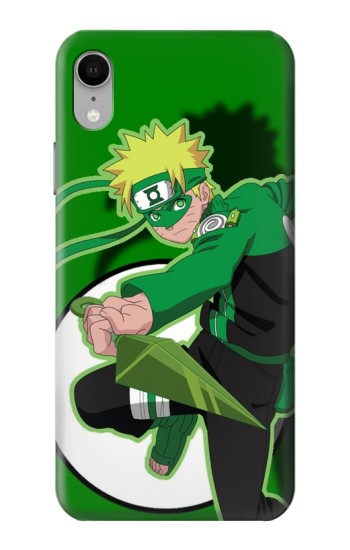 Printed Naruto Green iPhone XR Case