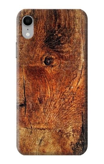 Printed Wood Skin Graphic iPhone XR Case
