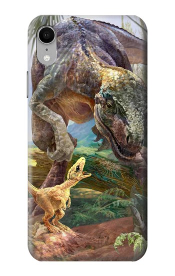 Printed Dinosaurs T-Rex iPhone XR Case