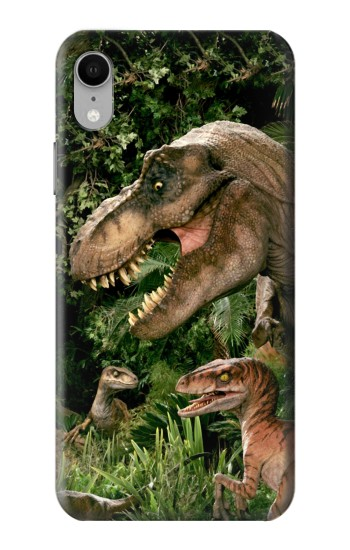 Printed Trex Raptor Dinosaur iPhone XR Case