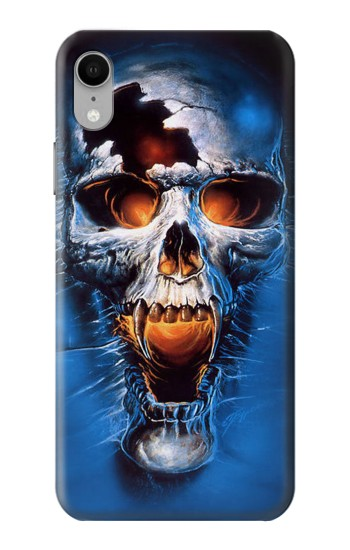Printed Vampire Skull iPhone XR Case
