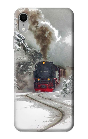 Printed Steam Train iPhone XR Case