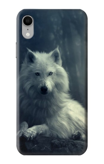 Printed White Wolf iPhone XR Case