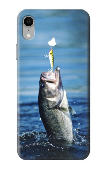 Printed Bass Fishing iPhone XR Case