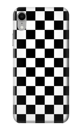 Printed Checkerboard Chess Board iPhone XR Case