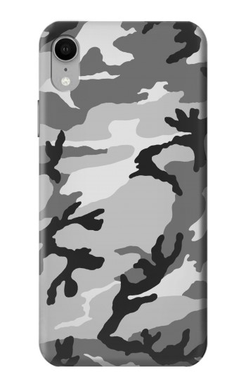 Printed Snow Camo Camouflage Graphic Printed iPhone XR Case