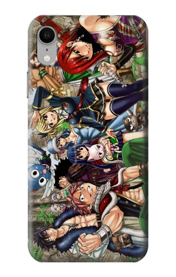 Printed Fairy Tail Guild Members iPhone XR Case