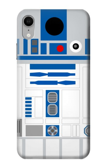 Printed R2D2 Minimalist iPhone XR Case
