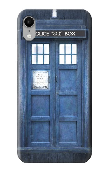 Printed Doctor Who Tardis iPhone XR Case