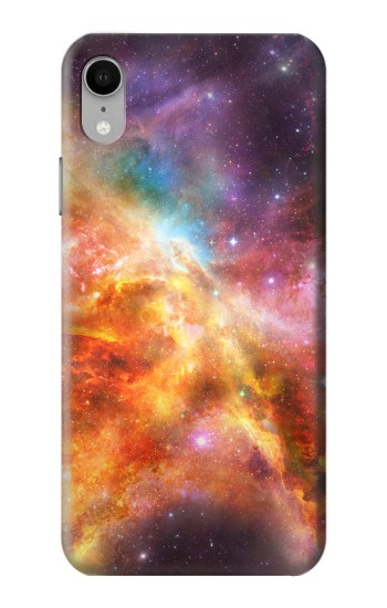 Printed Nebula Rainbow Space iPhone XR Case