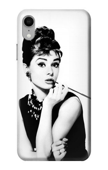 Printed Audrey Hepburn Breakfast at Tiffanys iPhone XR Case