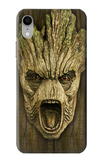 Printed Guardians of the Galaxy Groot Head iPhone XR Case