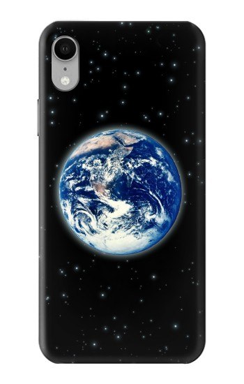 Printed Earth Planet Space Star nebula iPhone XR Case