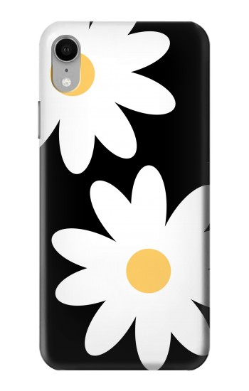 Printed Daisy White Flowers iPhone XR Case