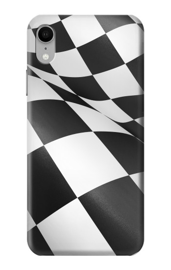 Printed Checkered Winner Flag iPhone XR Case