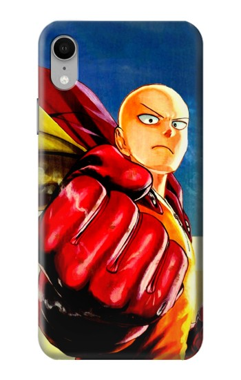 Printed Saitama One Punch Man iPhone XR Case