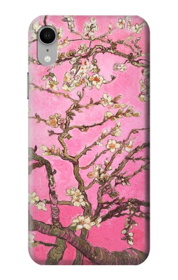 Printed Pink Blossoming Almond Tree Van Gogh iPhone XR Case