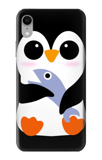 Printed Cute Baby Penguin iPhone XR Case