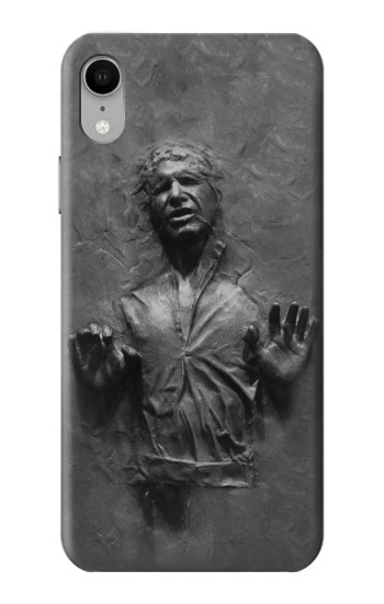 Printed Han Solo Frozen in Carbonite iPhone XR Case