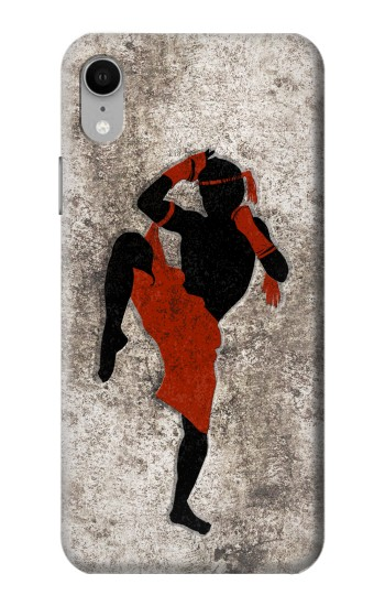 Printed Muay Thai Fight Boxing iPhone XR Case