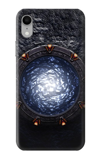 Printed The Stargate Orokin Portal iPhone XR Case