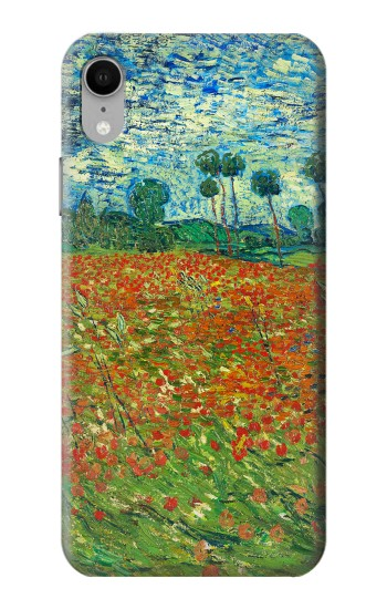 Printed Field Of Poppies Vincent Van Gogh iPhone XR Case