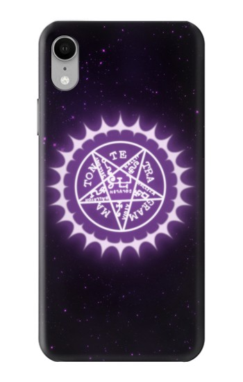 Printed Black Butler Pentagram iPhone XR Case