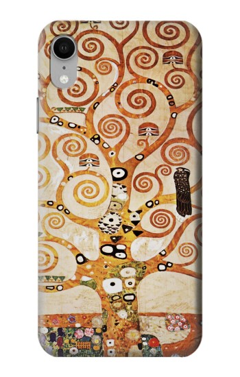 Printed The Tree of Life Gustav Klimt iPhone XR Case