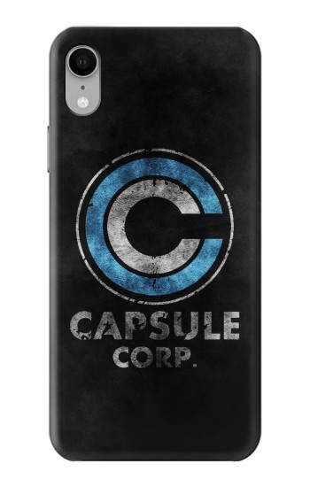 Printed Dragonball Capsule Corp Symbol iPhone XR Case