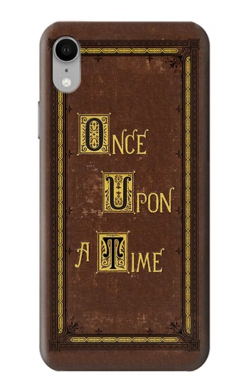 Printed Once Upon a Time Book Cover iPhone XR Case
