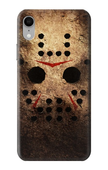 Printed Jason Hockey Mask iPhone XR Case