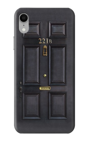 Printed Sherlock Holmes Black Door 221B iPhone XR Case