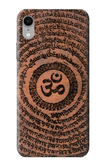 Printed Sak Yant Ohm Symbol Tattoo iPhone XR Case