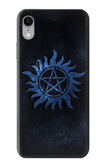 Printed Supernatural Anti Possession Symbol iPhone XR Case