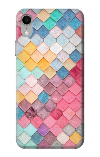 Printed Candy Minimal Pastel Colors iPhone XR Case