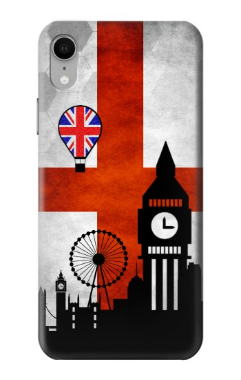 Printed England Football Flag iPhone XR Case
