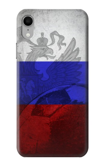 Printed Russia Football Flag iPhone XR Case