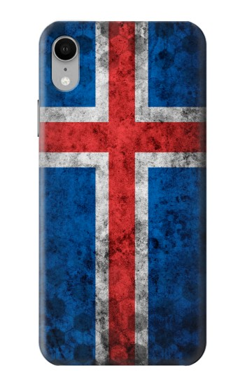 Printed Iceland Football Flag iPhone XR Case