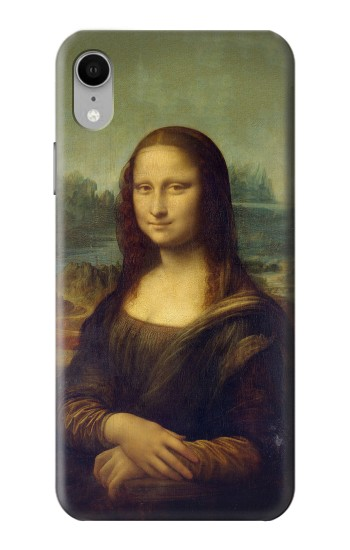 Printed Mona Lisa Da Vinci Painting iPhone XR Case