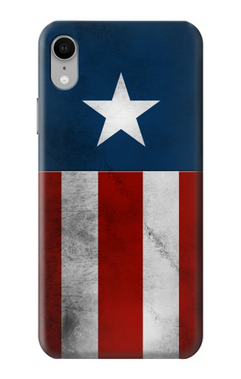 Printed Captain Star Flag of America iPhone XR Case