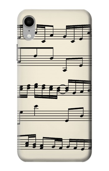 Printed Music Sheet iPhone XR Case