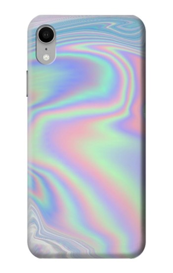 Printed Pastel Holographic Photo Printed iPhone XR Case
