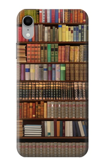 Printed Bookshelf iPhone XR Case