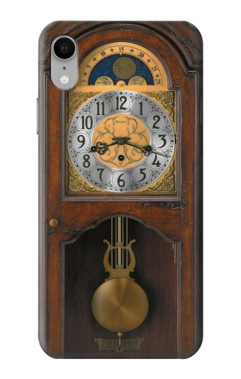 Printed Grandfather Clock Antique Wall Clock iPhone XR Case